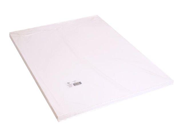 Clairefontaine - Carton mousse - 5 feuilles de 50 x 65 cm - 5 mm - blanc