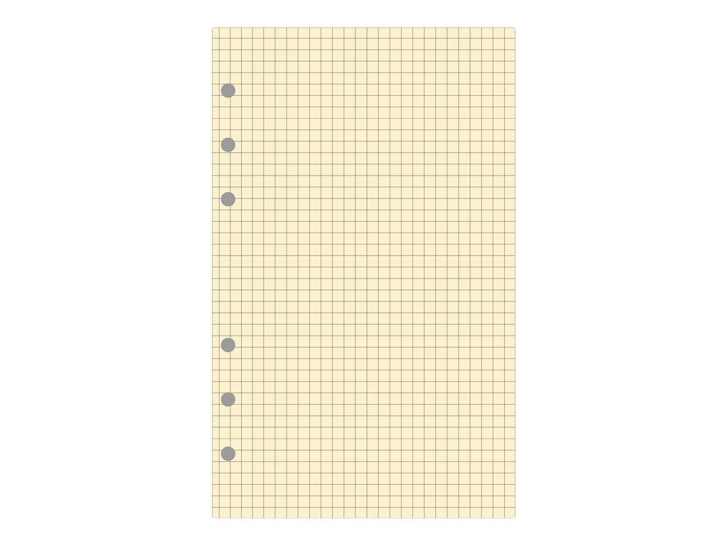 Exacompta Exatime 21 - Recharge pour organiseur - bloc note quadrillé - 14,2 x 21 cm