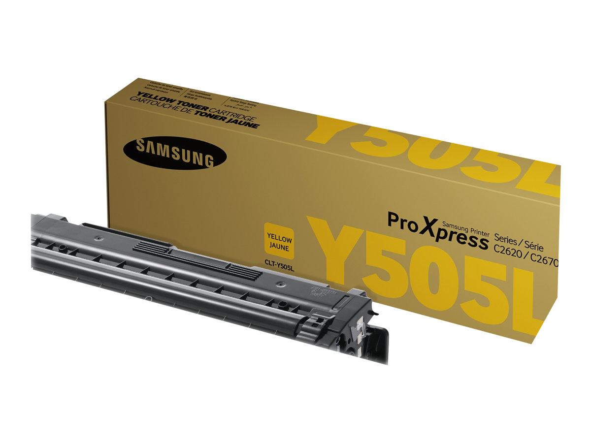 Samsung CLT-Y505L - jaune - cartouche laser d'origine