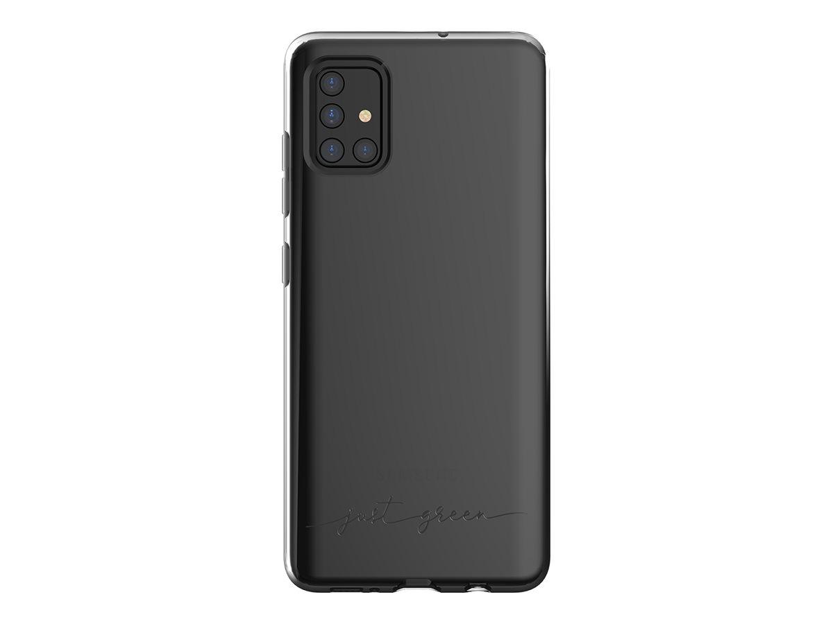 Just Green - Coque de protection pour Samsung A51 - transparent