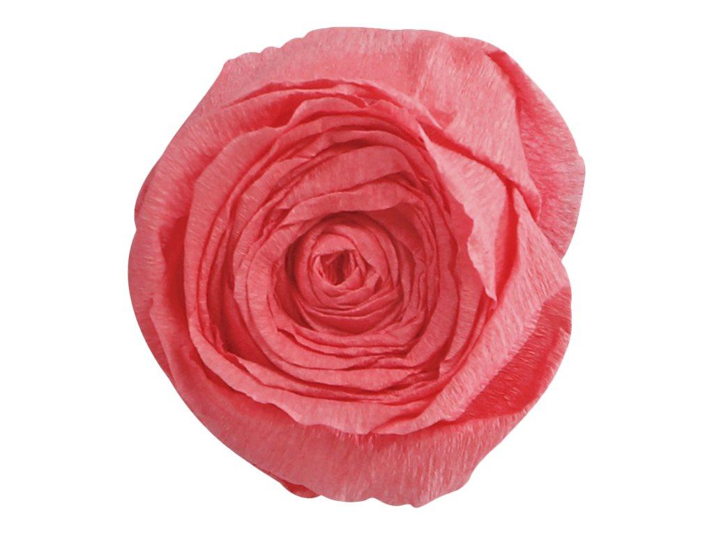 Clairefontaine Premium - Papier crépon - Rouleau 50 cm x 2,5 m - 40 g/m² - rose saumon