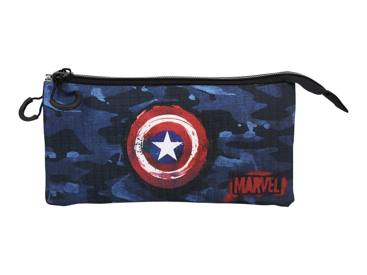 Captain America Supreme - Trousse 3 compartiments - Karactermania