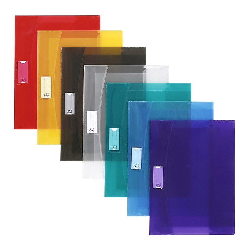 Viquel Strong - Protège cahier avec rabats - 17 x 22 cm - jaune