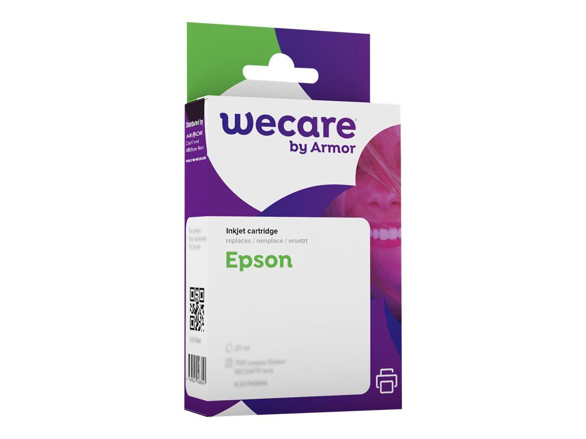 Epson T0552 Canard - compatible Wecare K12117W4 - cyan - cartouche d'encre