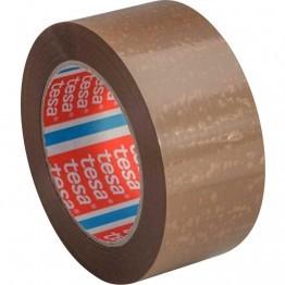 Tesa - Ruban adhésif d'emballage - havane- PVC - 50 mm x 100 m