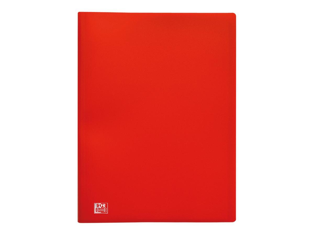 Initial - Porte vues - 60 vues - A4 - disponible dans différentes couleurs