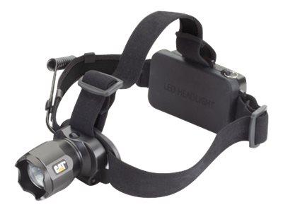 CAT - Lampe frontale rechargeable avec faisceau projecteur - LED