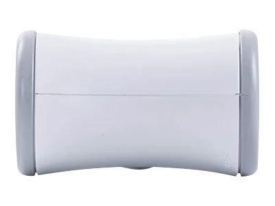 WATT & CO - Multiprise biplite rotative - blanc/gris