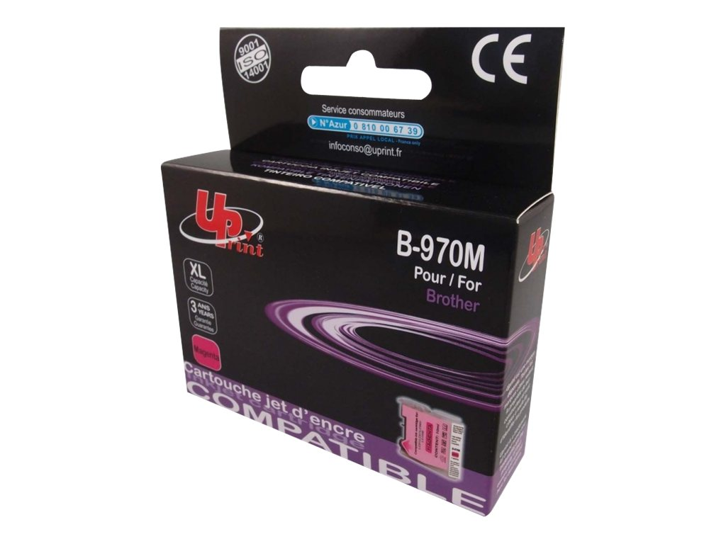 Brother LC1000/LC970 - compatible UPrint B.970/1000M - magenta - cartouche d'encre