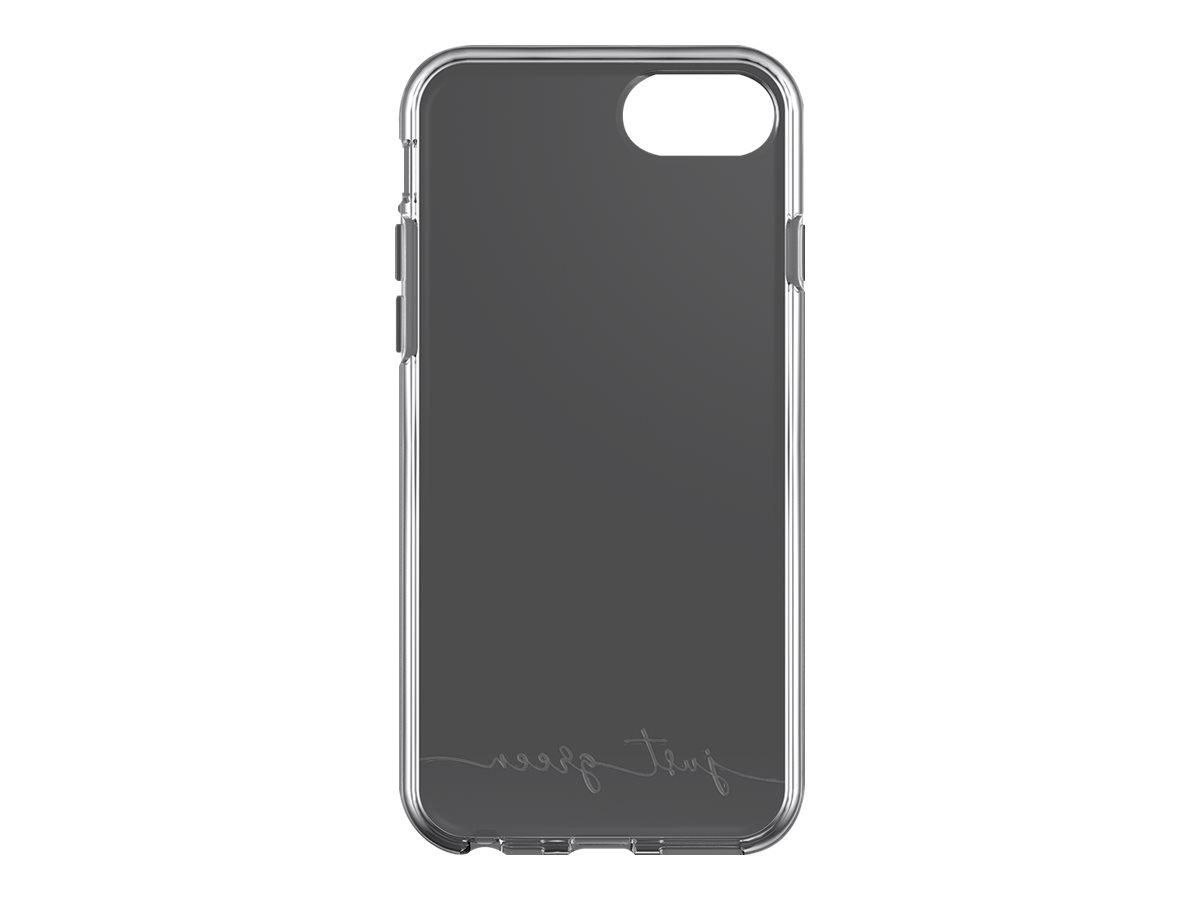 Just Green - Coque de protection souple pour Iphone SE (2020)/8/7/6S/6 - transparent