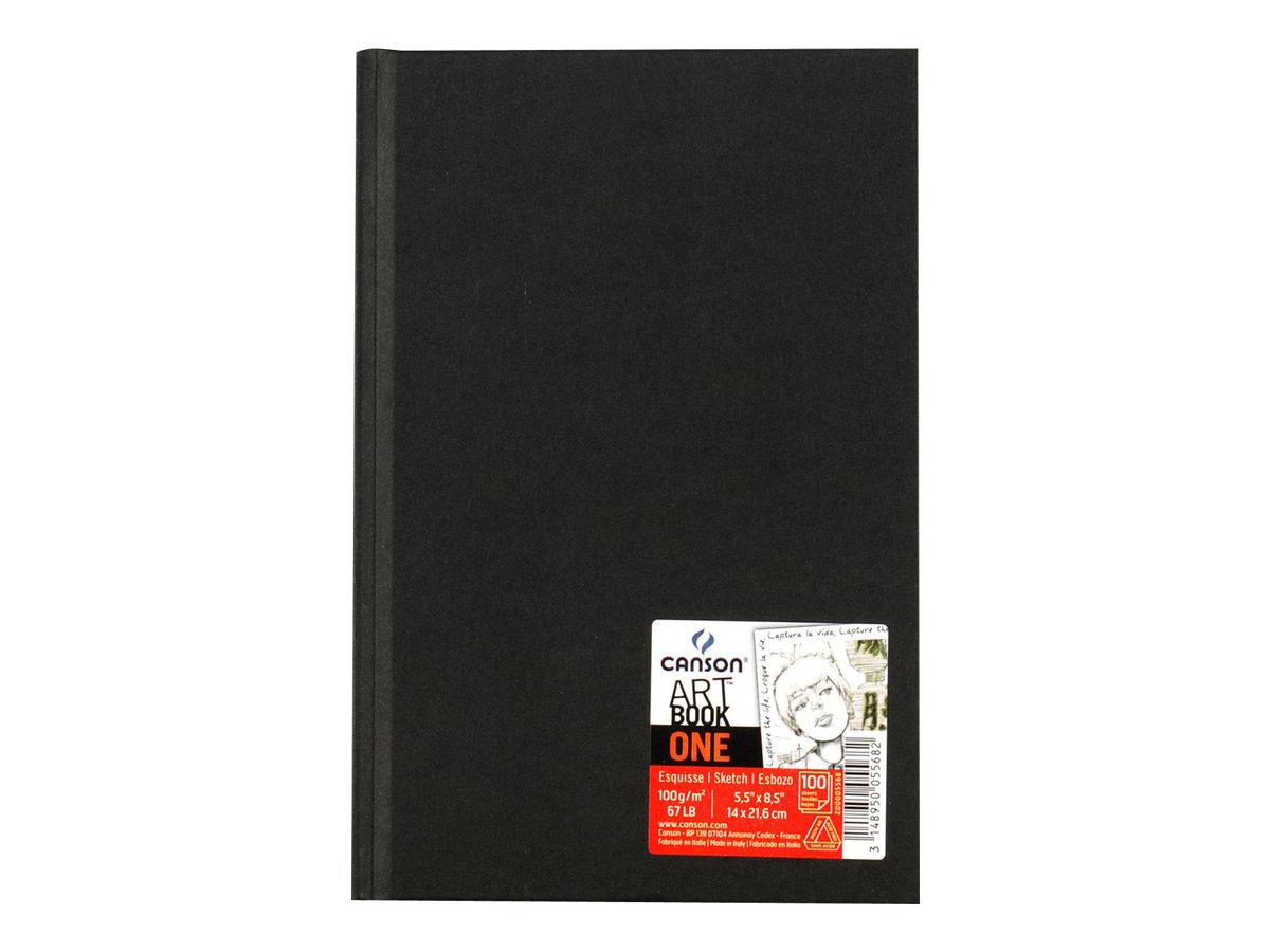 Canson Art book - Bloc dessin - 100 feuilles - 14 x 21 cm - 100 gr