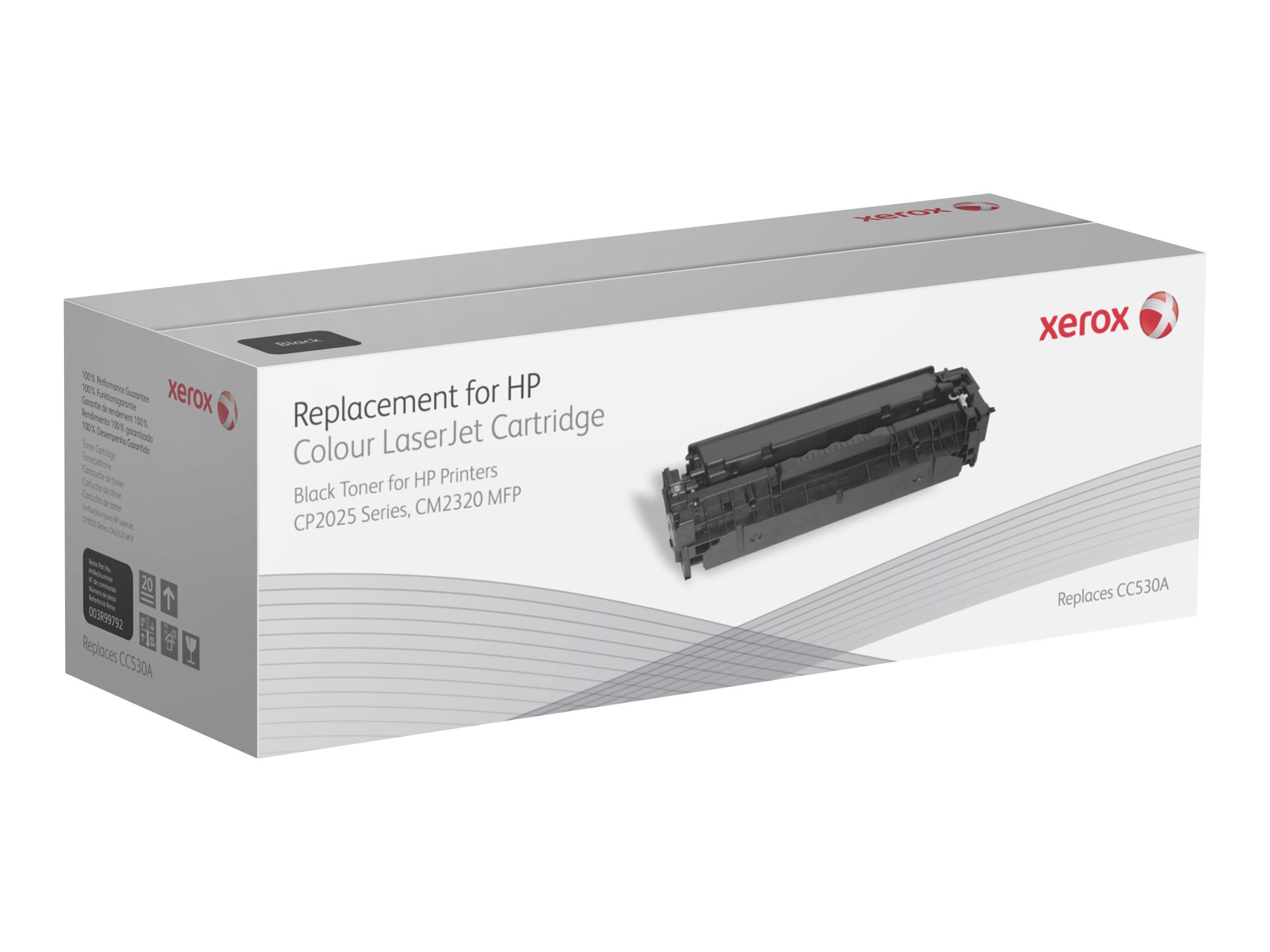 Xerox HP Colour LaserJet CM2320 MFP series - noir - cartouche de toner (alternative pour: HP CC530A)