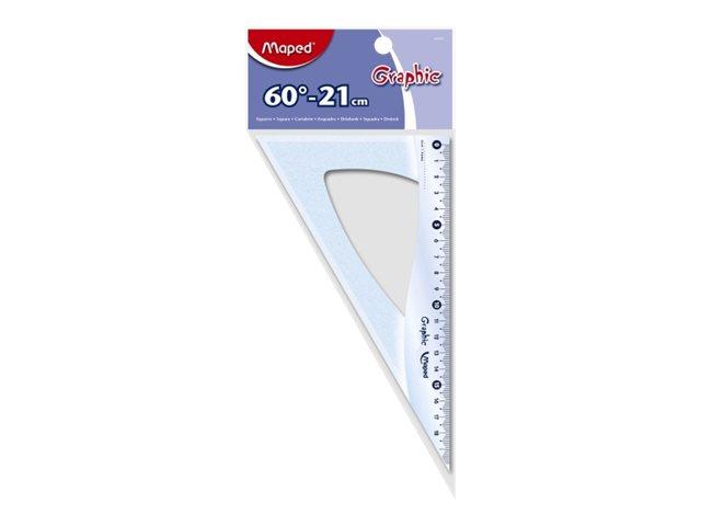 Maped Géométric - Équerre 21 cm - 60°