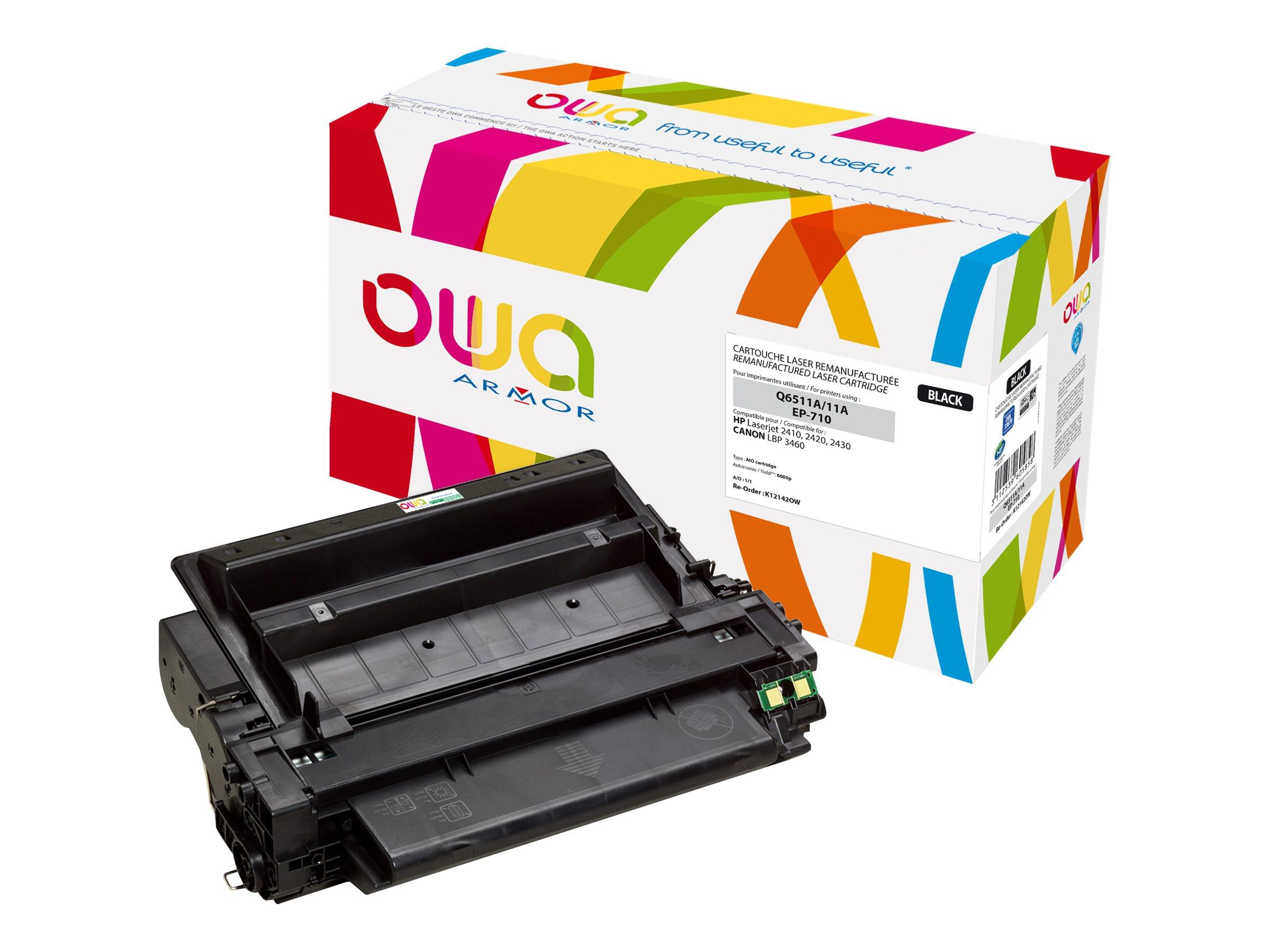 HP 11A - remanufacturé Owa K12142OW - noir - cartouche laser