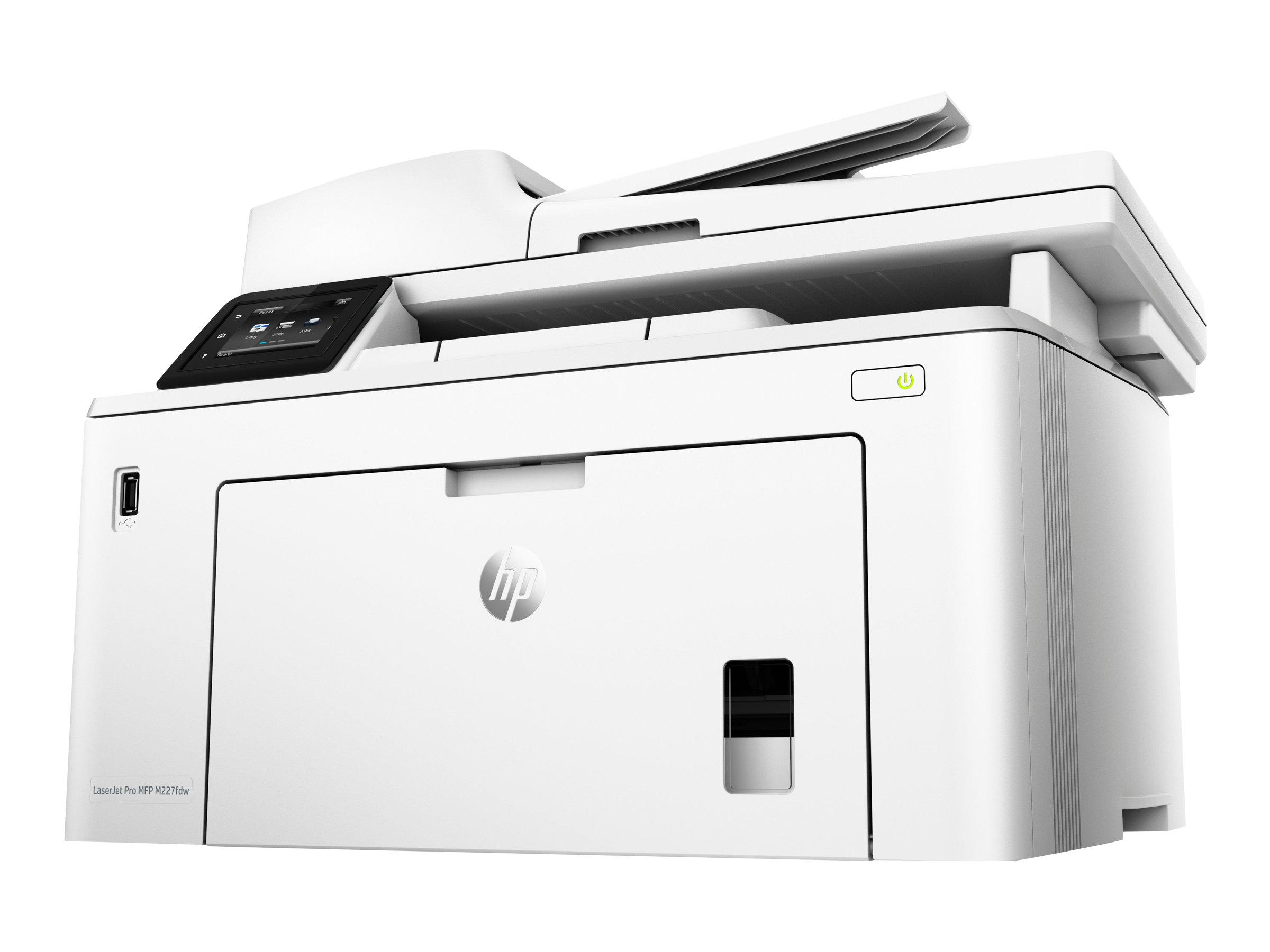 HP LaserJet Pro MFP M227fdw - imprimante laser multifonction monochrome A4 - recto-verso - Wifi