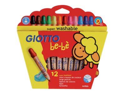GIOTTO Bébé - 12 Crayons de couleur