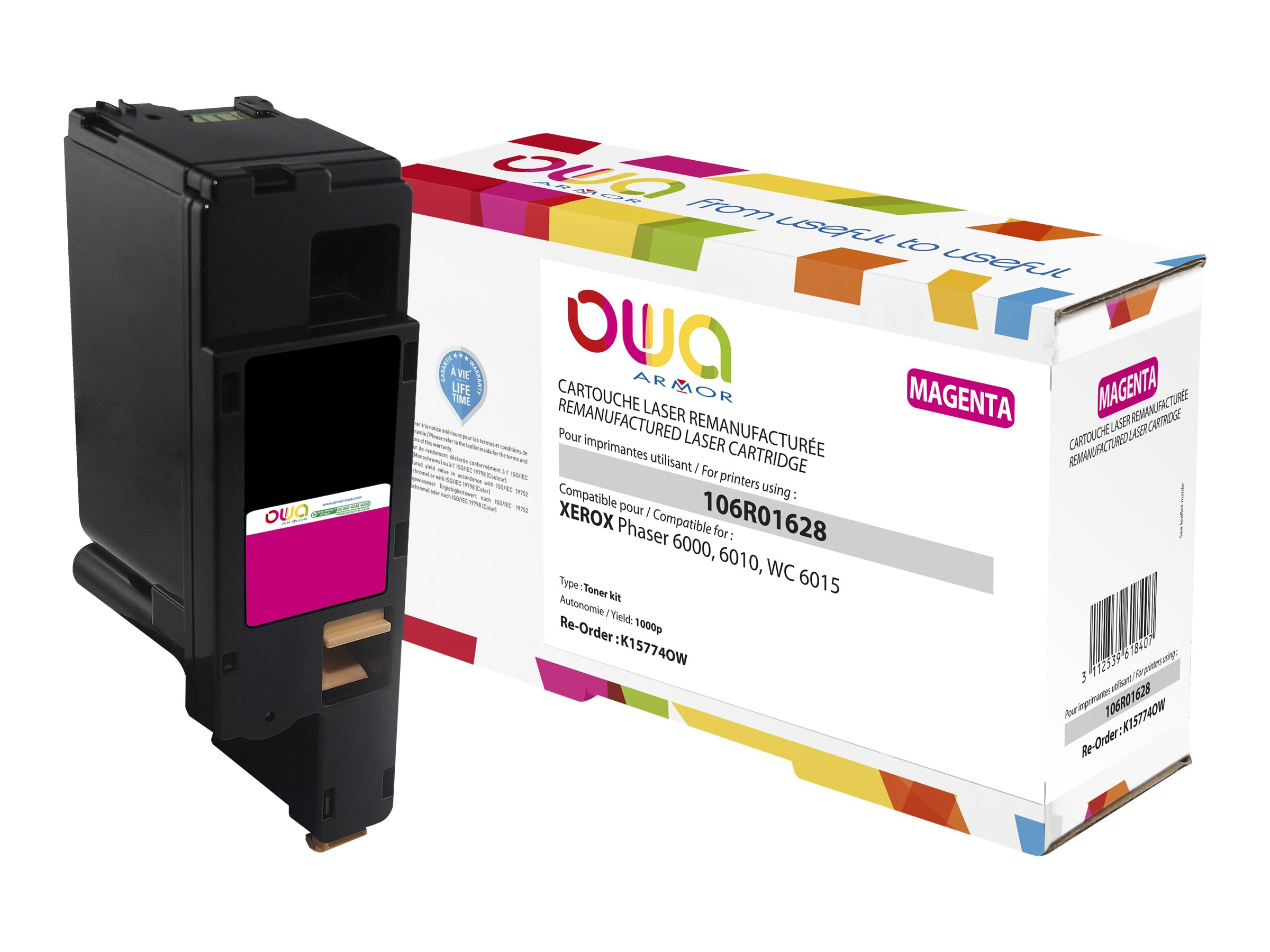 Xerox 106R01628 - remanufacturé OWA K15774OW - magenta - cartouche laser