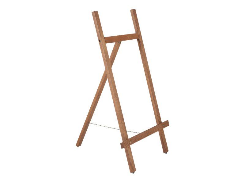 Promocome - Chevalet de sol en bois - usage extérieur - 52 x 103 cm