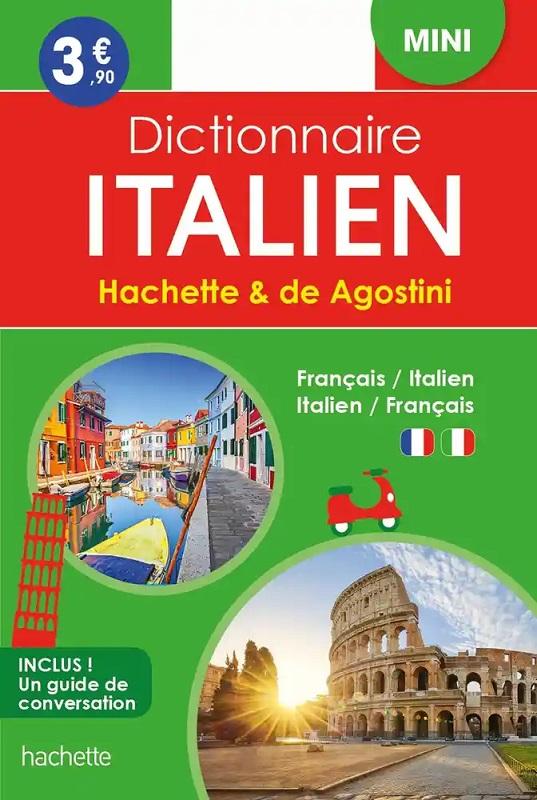 Hachette De Agostini Mini Dictionnaire bilingue Italien/Français