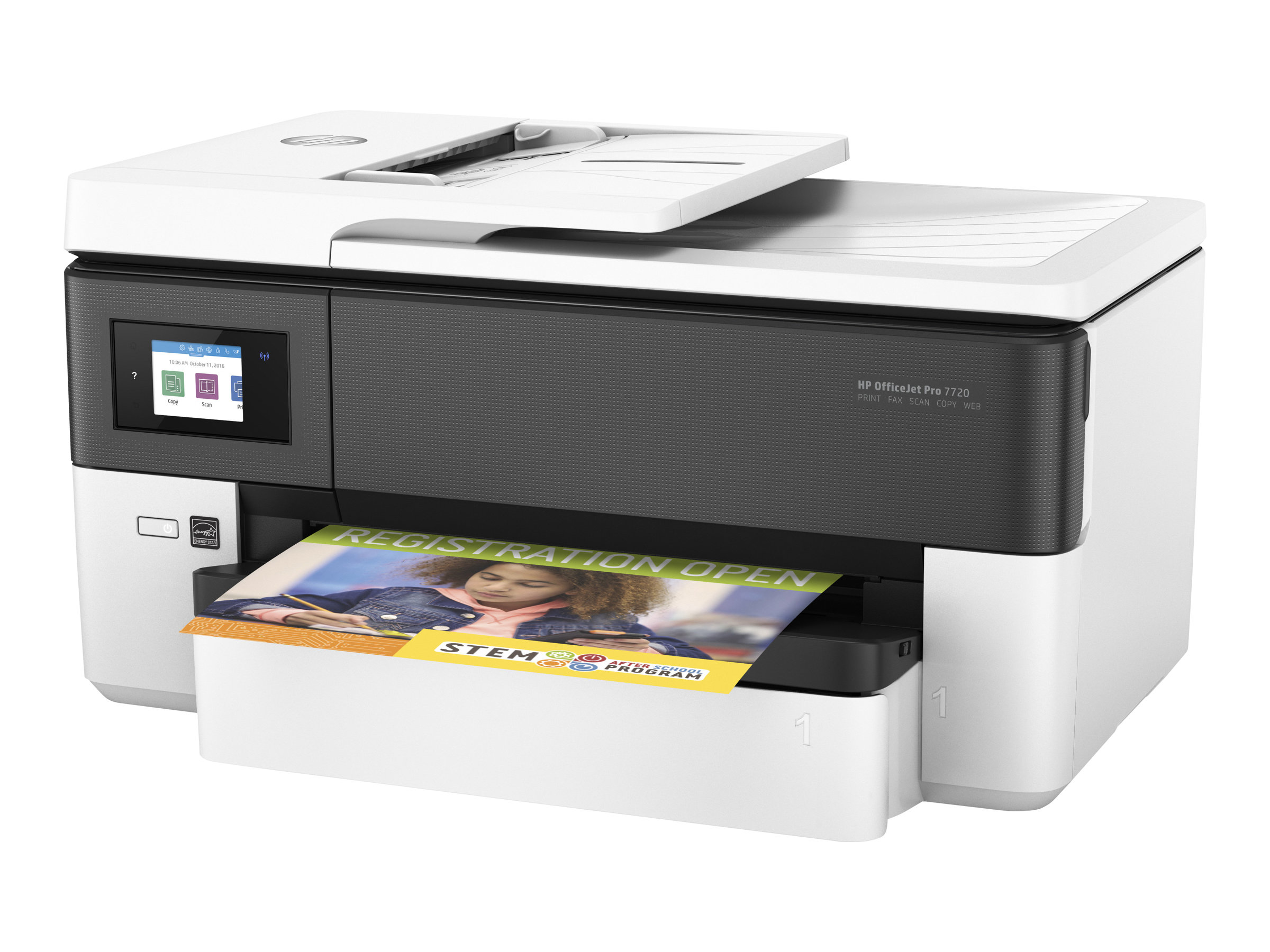 HP Officejet Pro 7720 Wide Format All-in-One - imprimante multifonctions jet d'encre couleur A3 - Wifi