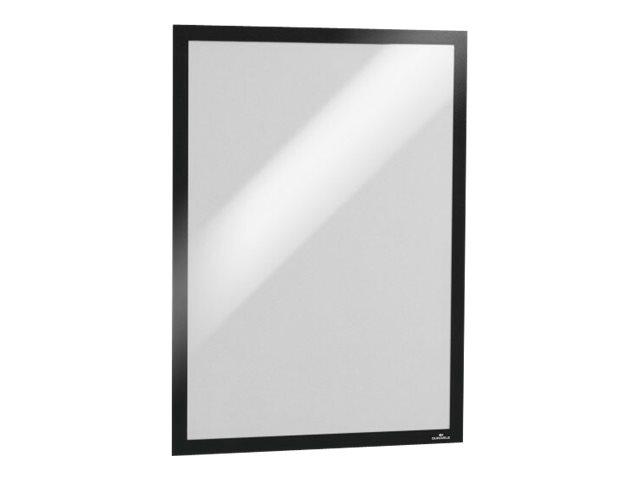 Durable Duraframe - Cadre d'affichage adhésif - A3 - noir