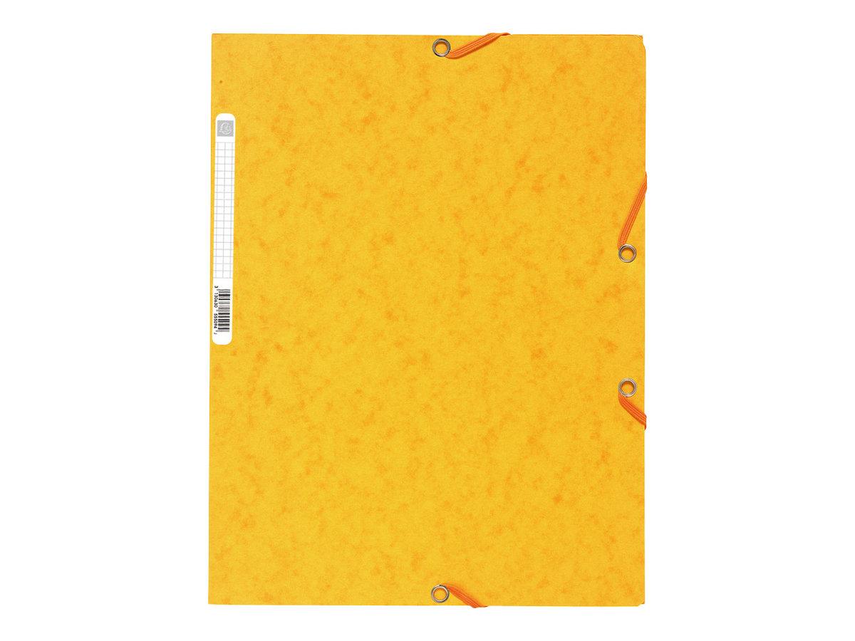 Exacompta Nature Future - Chemise à 3 rabats - A4 - pour 250 feuilles - jaune
