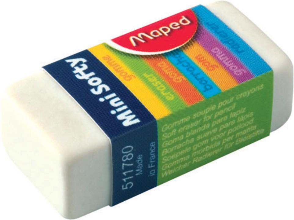 Maped - Pack de 36 gommes fourreau Mini Softy