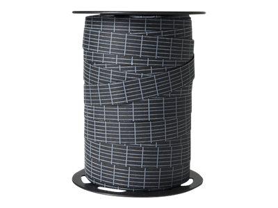 Maildor - Bolduc inscriptible - ruban d'emballage 15 mm x 100 m - noir