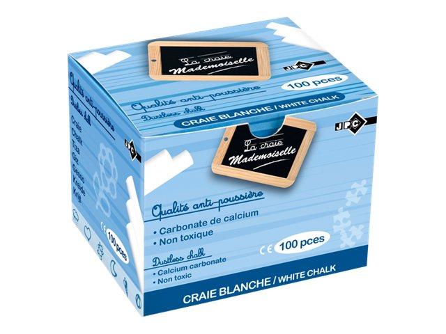 Wonday - 100 Craies  blanches - anti poussière