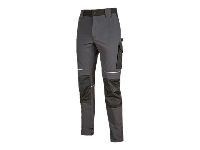 Pantalon multipoches gris - Taille L - Atom U-Power