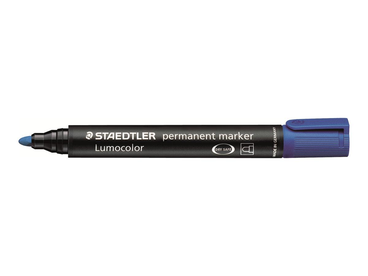 STAEDTLER LUMOCOLOR 352 - Marqueur permanent - pointe ogive - bleu