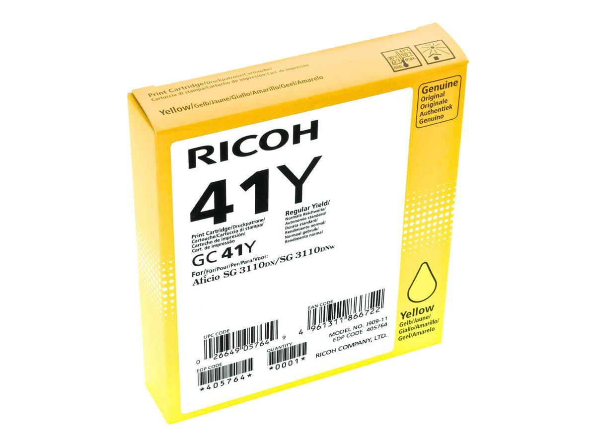 Ricoh GC 41 XL- jaune - cartouche d'encre originale