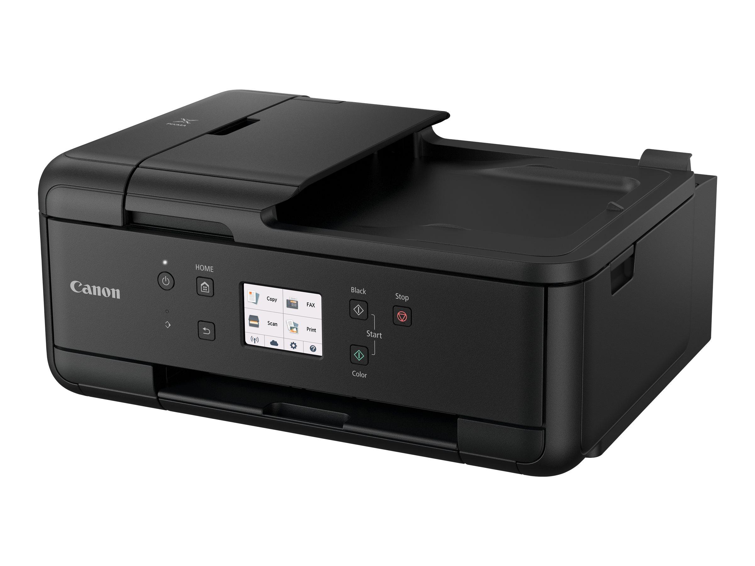 Canon PIXMA TR7550 - imprimante multifonctions jet d'encre couleur A4 - Wifi, Bluetooth, USB - recto-verso