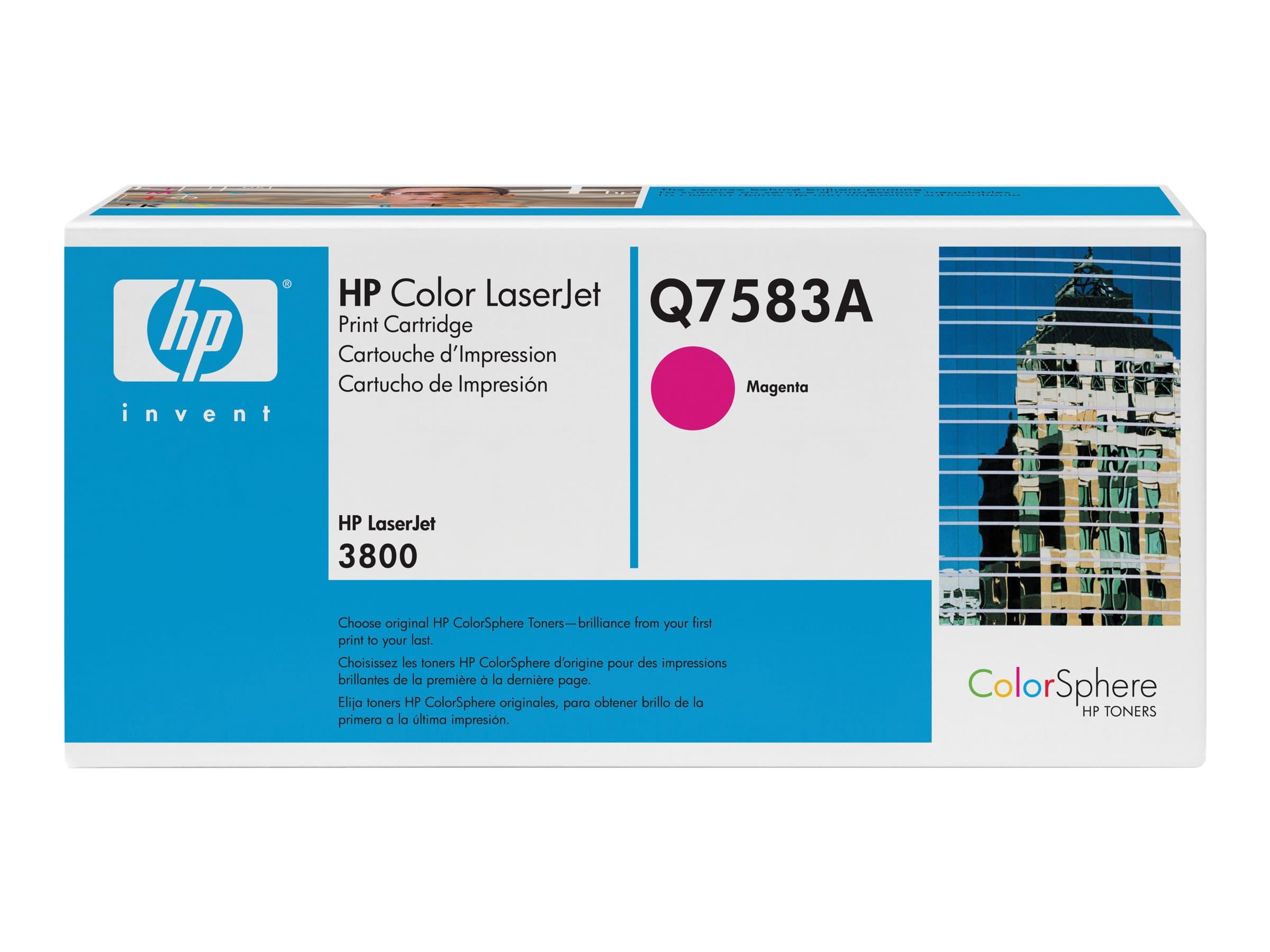 HP 503A - magenta - toner LaserJet d'origine - cartouche laser