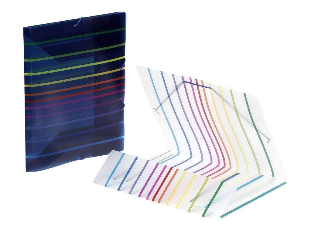 Viquel Envy - Chemise polypro à rabats - A4 - 2 visuels disponibles