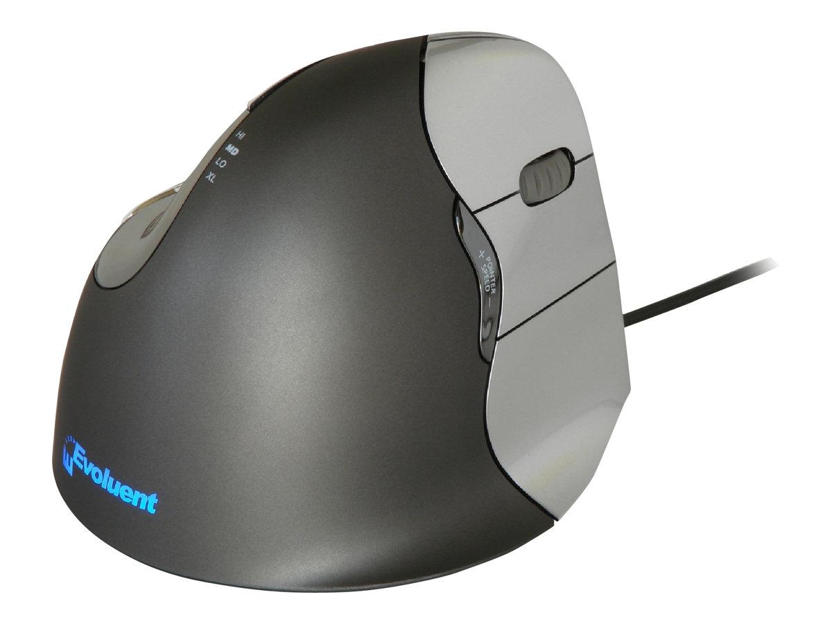 Bakker Elkhuizen Evoluent 4 - souris filaire ergonomique pour droitier