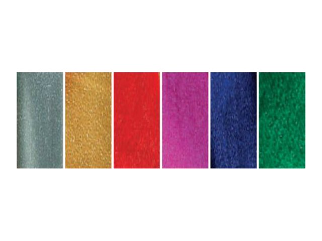 Clairefontaine - Papier cadeau métallisé - 50 cm x 2,5 m - 80 g/m² - disponible dans différentes couleurs