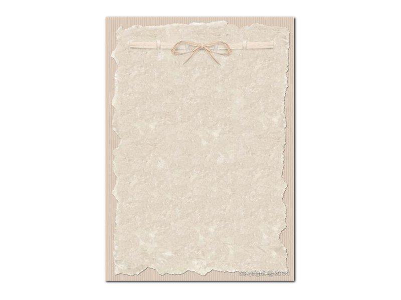 DECAdry Multipurpose - Papier illustré - 20 feuilles - motif parchemin