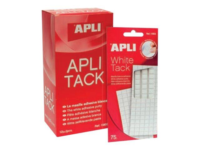 Apli - Pack de 114 pastilles adhésives de montage