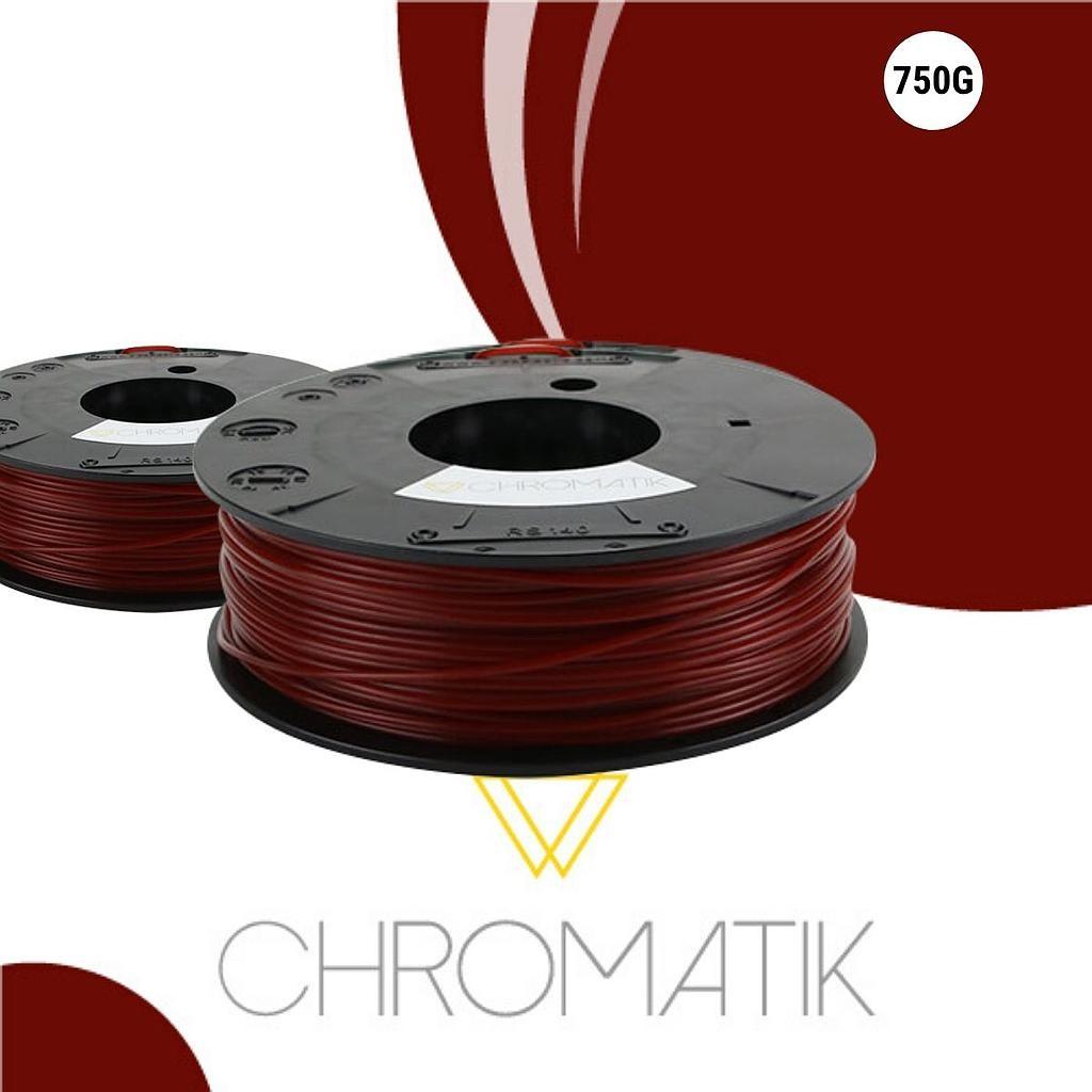 Dagoma Chromatik - filament 3D PLA - rouge cerise - Ø 1,75 mm - 750g