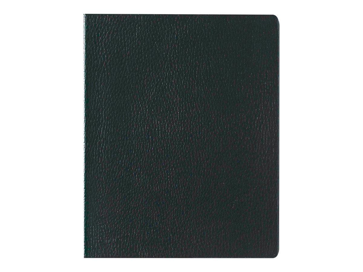 Lecas Economique - Agenda 1 semaine sur 2 pages - 21 x 27 cm - noir