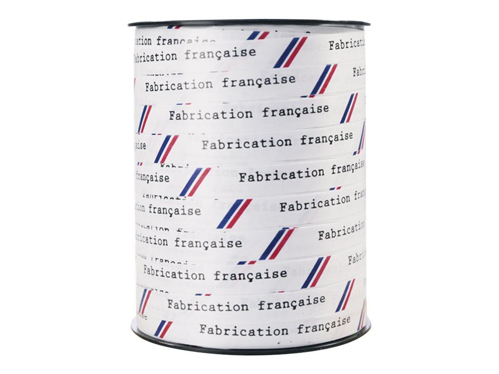 Maildor - Bolduc lisse - ruban d'emballage 10 mm x 250 m - fabrication française