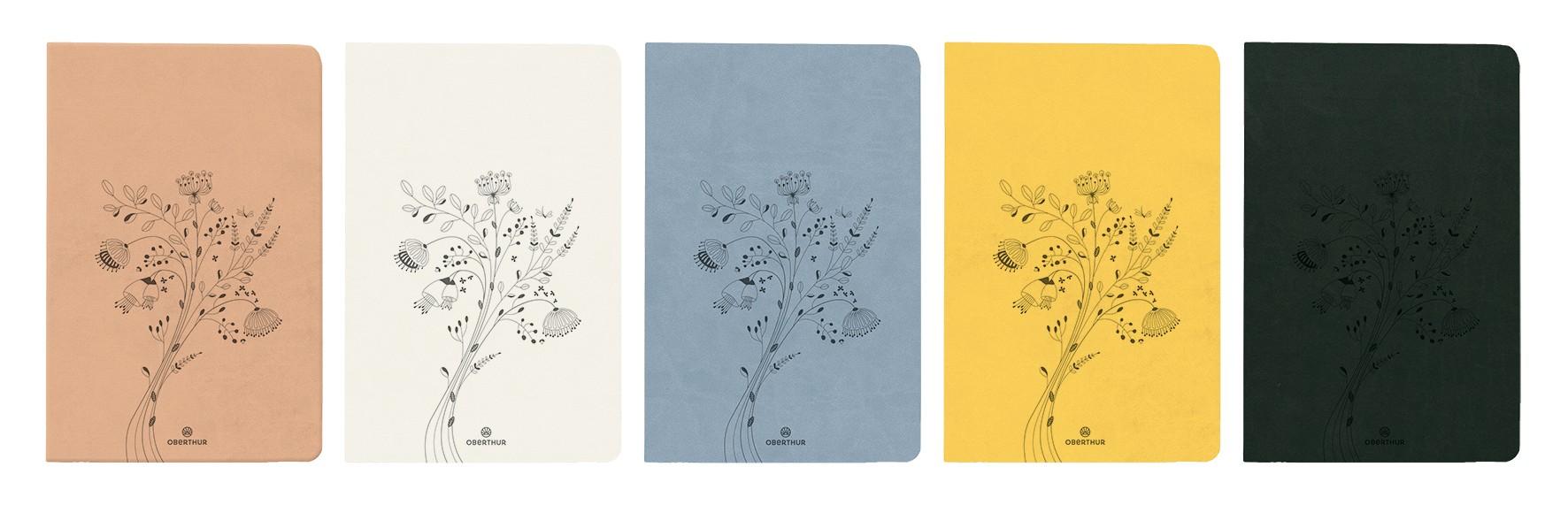 Agenda Summerside 25 - 1 semaine sur 2 pages - disponible dans différentes couleurs - Oberthur
