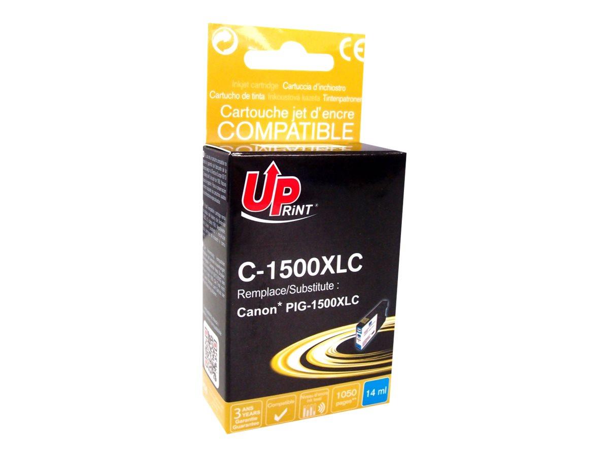 Canon PGI-1500XL - compatible UPrint C.1500XLC - cyan - cartouche d'encre