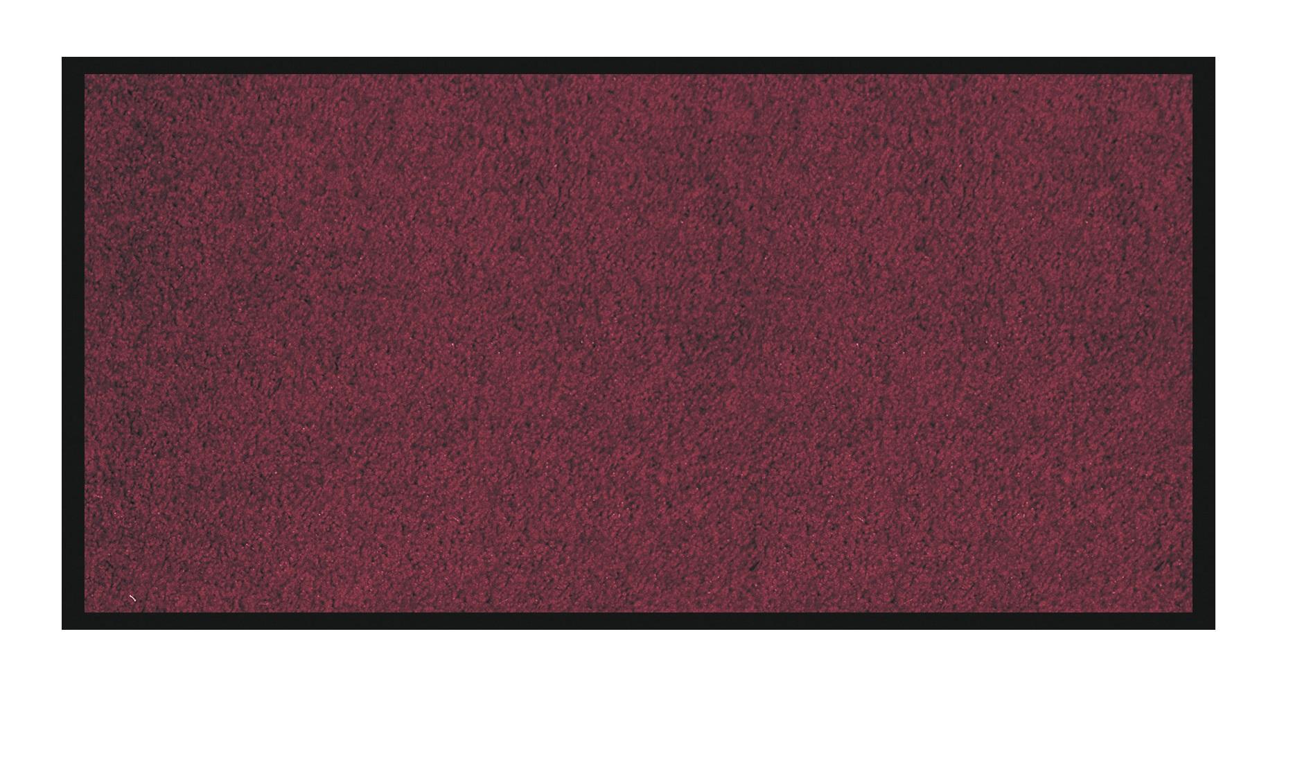Tapis de sol absorbant RAINBOW - 90 x 150 cm - en polyamide - bordeaux