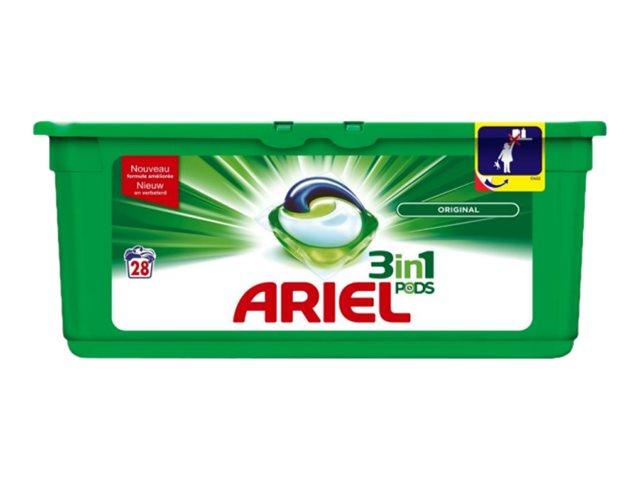 Ariel Pods 3 in 1 Original - Lessive 27 pastilles