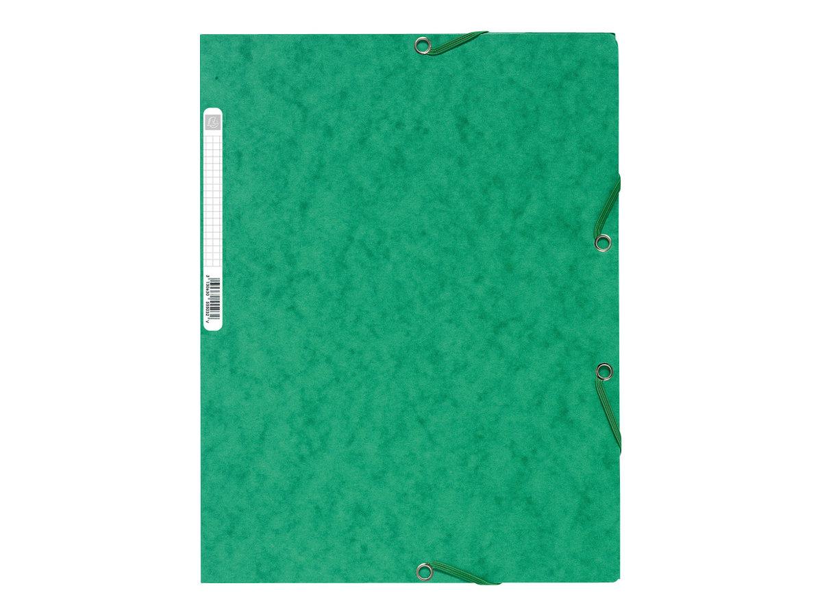Exacompta Nature Future - Chemise à 3 rabats - A4 - pour 250 feuilles - vert