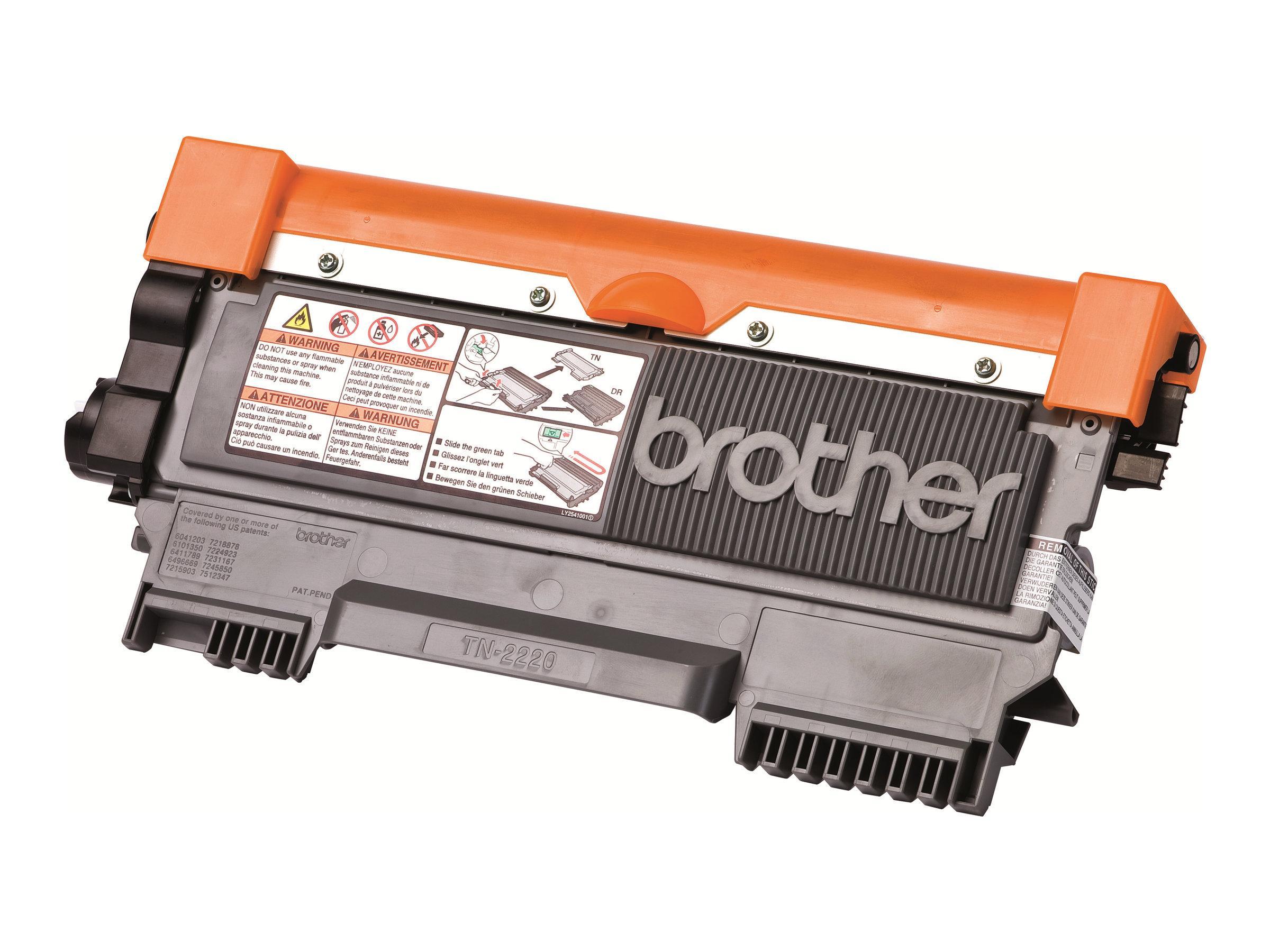 Brother TN2220 - noir - cartouche laser d'origine