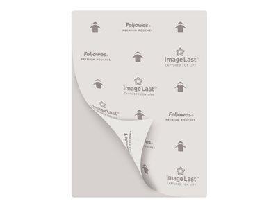 Fellowes - 25 pochettes de plastification A4 (216 x 303 mm) - 80 microns - brillantes