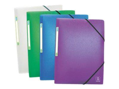 Oxford 2nd Life - Chemise polypro à rabats - A4 - disponible dans différentes couleurs